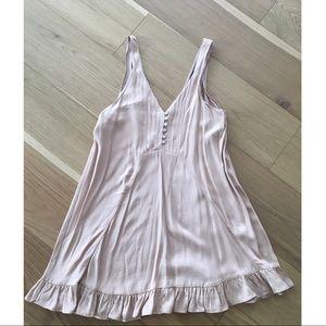 ZARA Size: S Pink Silk Dress (blogger's fave)